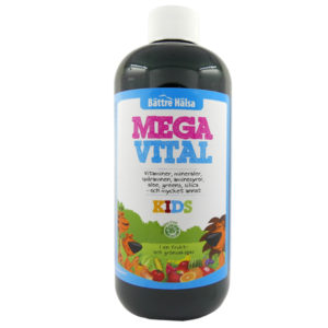 Flytande kosttillskott, förutom Kyäni, Noni och FitLine kan man även prova Mega Vital - finns för barn och vuxna - glöm inte öka dosen ;-)